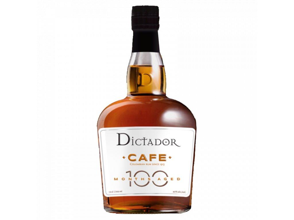 rum dictador 100 months cafe espirits cz
