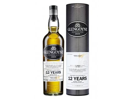 skotska single malt whisky glengoyne 12 yo giftbox