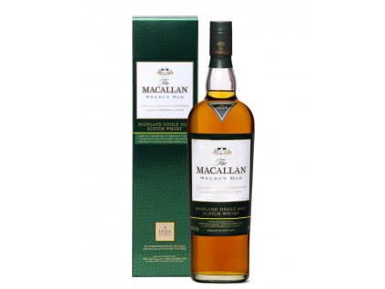 whisky macallan select oak espirits cz