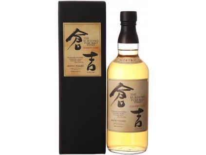 japanese whisky kurayoshi sherry cask espirits.cz