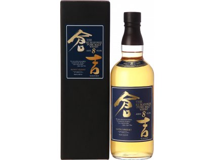 japanesse whisky Kurayoshi pure malt 8 years old espirits.cz