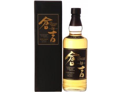 japanese whisky kurayoshi 18 years old espirits.cz