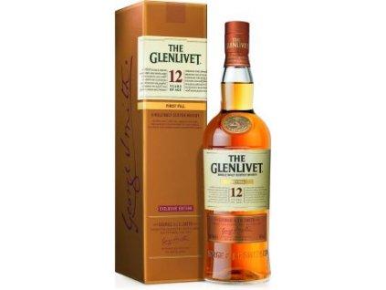 whisky glenlivet 12yo exclusive edition espirits.cz