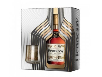 cognac hennessee vs 2 glasses giftpack espirits.cz1
