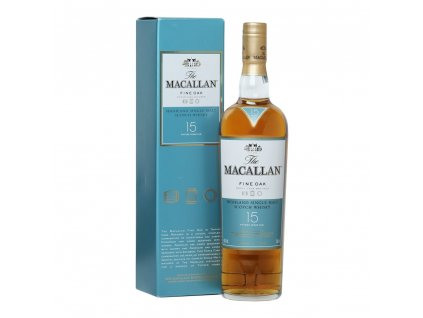 whisky the macallan fine oak 15yo espirits.cz