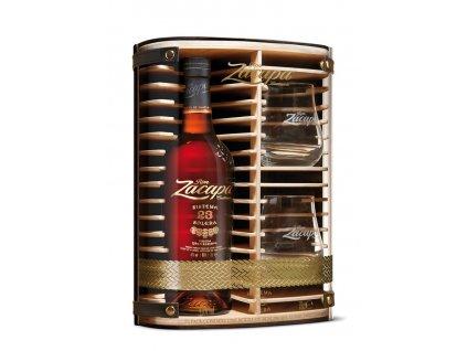 rum zacapa centenario 23yo giftbox glasses espirits.cz