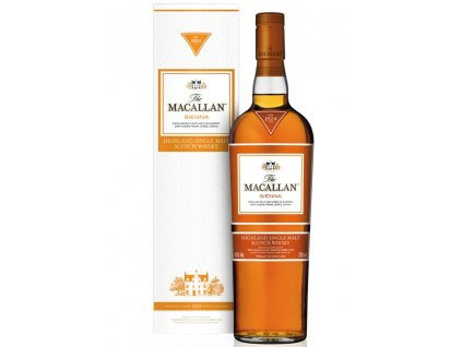 skotska single malt whisky the Macallan sienna giftbox