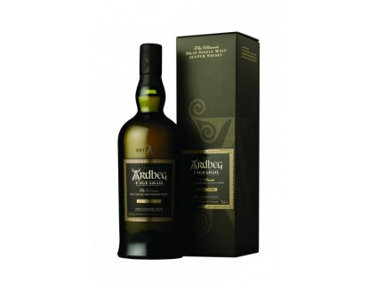skotska single malt whisky ardbeg uigedail giftbox