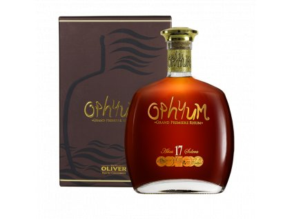 rum ophyum 17yo giftbox espirits