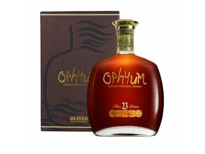 rum ophyum 23yo giftbox espirits