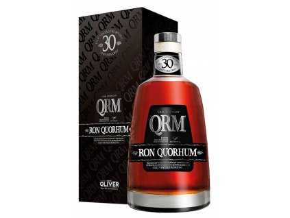 rum Quorhum 30 Aniversario Cask Strength Limited giftbox