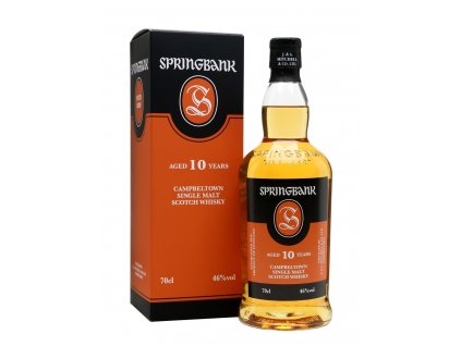whisky springbank 10 years old
