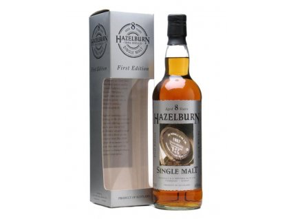 skotska single malt whisky hazelburn 8 yo giftbox