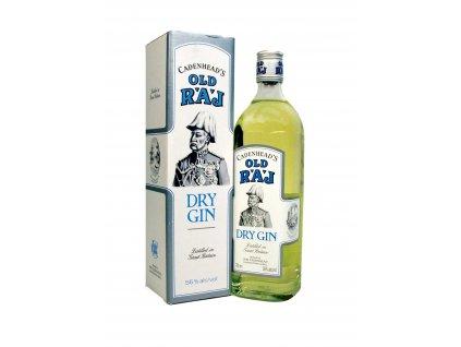 old raj dry gin 55 giftbox