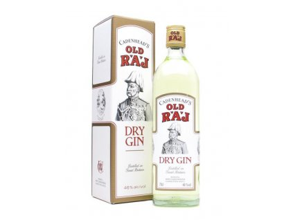 old raj dry gin 46 giftbox