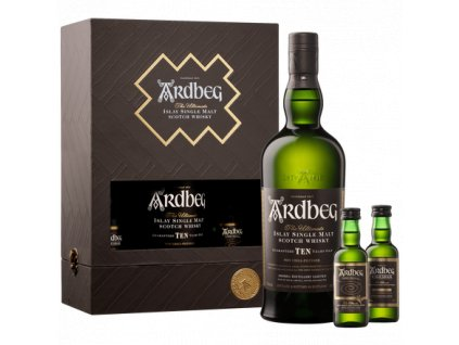skotska single malt whisky ardbeg exploration pack miniatures