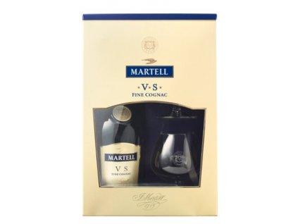 konak cognac martell vs 2 sklenicky darkove baleni
