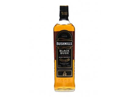 irska irish whiskey bushmills black bush bottle