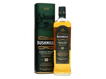 irska irish whiskey bushmills 10 yo giftbox