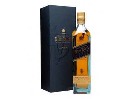 blended whisky Johnnie walker blue label giftbox
