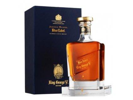 blended whisky Johnnie walker blue king george v giftbox
