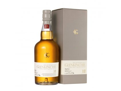 skotska single malt whisky glenkinchie 12 yo giftbox