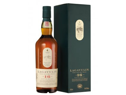 skotska single malt whisky lagavulin 16 yo giftbox