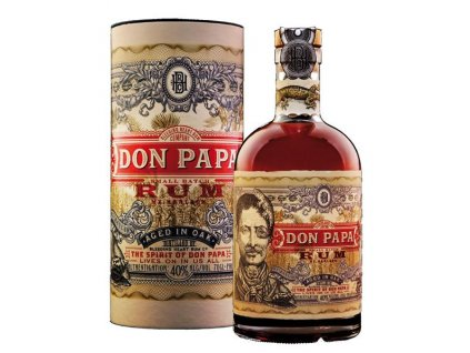 rum Don Papa 7 yo giftbox