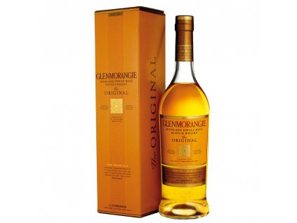 skotska single malt whisky Glenmorangie 10 yo giftbox