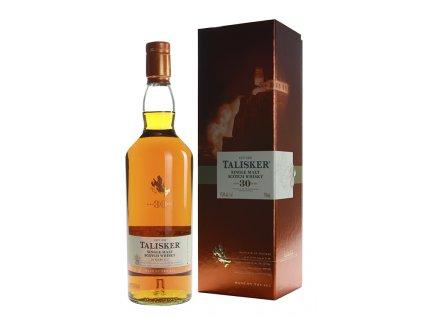 skotska single malt whisky talisker 30 yo giftbox