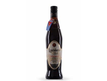 rum legendario 7 yo elixir de cuba bottle