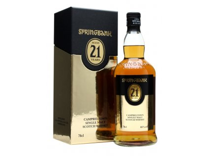 skotska single malt whisky springbank 18 yo giftbox