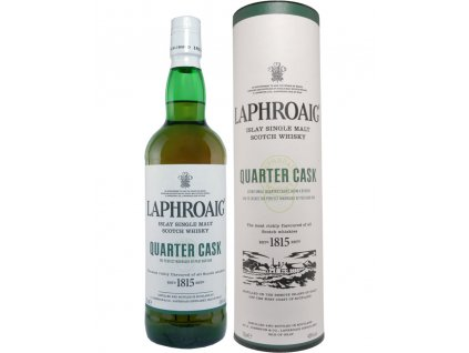 skotska single malt whisky laphroaig quarter cask giftbox