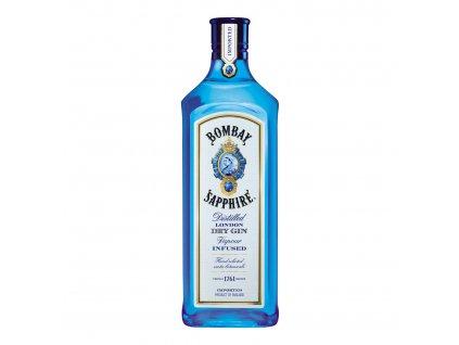 gin Bombay sapphire bottle