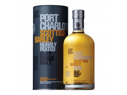 skotska single malt whisky bruichladdich port Charlotte Scottish barley giftbox