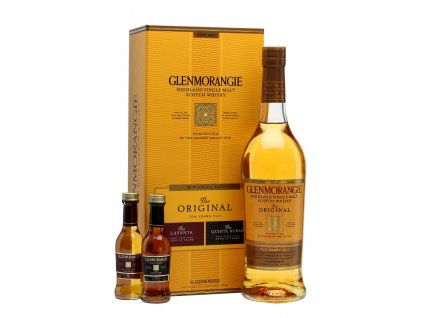 skotska single malt whisky Glenmorangie pioneer pack darkove baleni