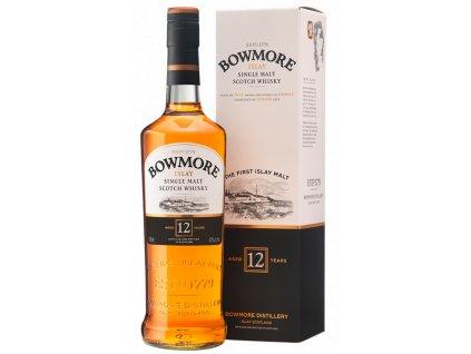 skotska single malt whisky bowmore 12 yo