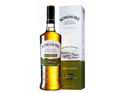 skotska single malt whisky bowmore small batch giftbox