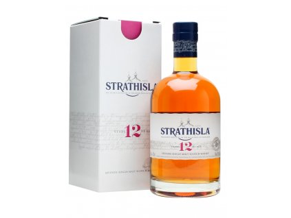 skotska single malt whisky strathisla 12 yo giftbox
