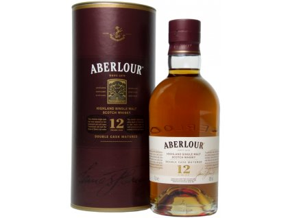 skotska single malt whisky aberlour 12 yo giftbox
