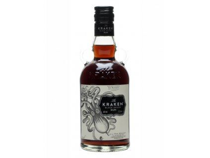 rum kraken black spiced bottle
