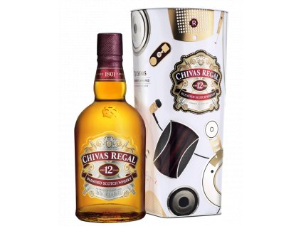 blended whisky chivas regal 12 yo plech giftbox