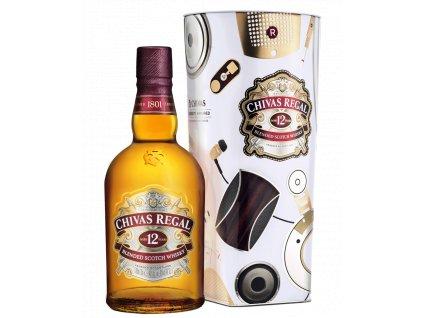 blended whisky chivas regal 12 yo plech giftbox