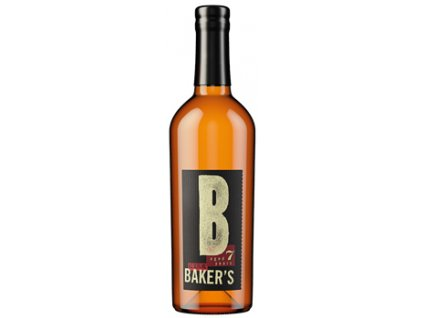 bourbon and Tennessee whiskey Bakers original bottle