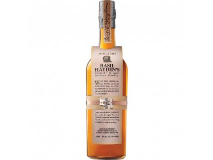 bourbon and Tennessee whiskey basil hayden bottle
