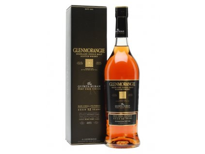 skotska single malt whisky Glenmorangie Quinta ruban giftbox
