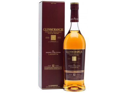 skotska single malt whisky Glenmorangie lasanta giftbox