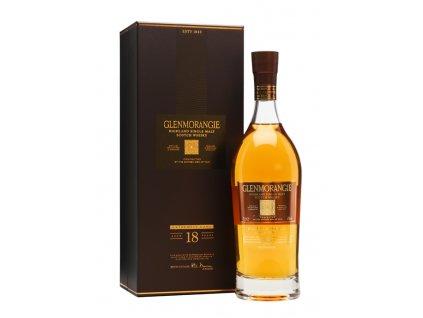 skotska single malt whisky Glenmorangie 18 yo giftbox