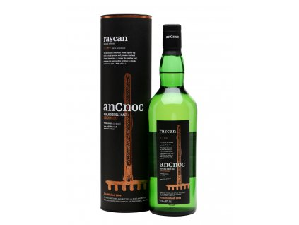 skotska single malt whisky ancnoc rascan giftbox