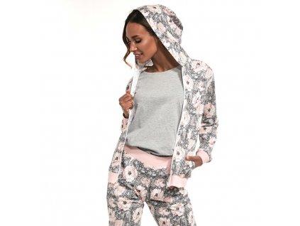 CORNETTE Megan 355/216 Dámské pyžamo trojdílné